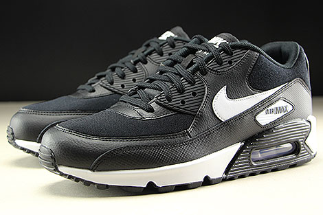 Nike WMNS Air Max 90 Black White Sidedetails