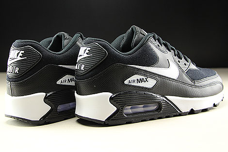 Nike WMNS Air Max 90 Black White Back view