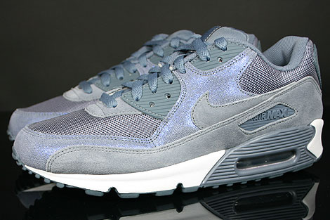 Nike WMNS Air Max 90 Blue Dusk Blue Dusk White Profile