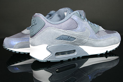 Nike WMNS Air Max 90 Blue Dusk Blue Dusk White Inside