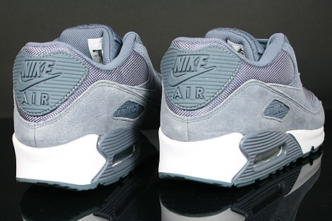 Nike WMNS Air Max 90 Blue Dusk Blue Dusk White Back view
