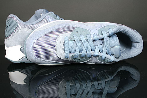 Nike WMNS Air Max 90 Violett Grau Weiss Oberschuh