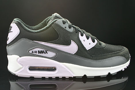 Nike WMNS Air Max 90 Black Violet Frost Anthracite Cool Grey