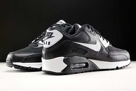 Nike WMNS Air Max 90 Essential Schwarz Weiss Hellgrau Innenseite