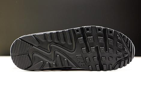 Nike WMNS Air Max 90 Essential Schwarz Weiss Hellgrau Laufsohle
