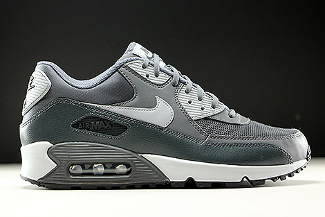 newest collection fd708 ac90a ... Nike WMNS Air Max 90 Essential Dunkelgrau Grau Anthrazit Rechts ...