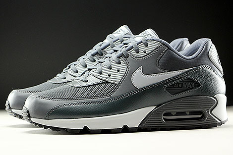 Nike WMNS Air Max 90 Essential Dark Grey Wolf Grey Anthracite Profile