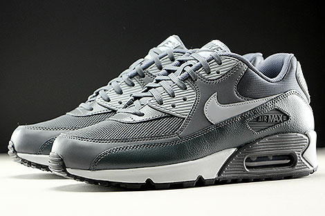 Nike WMNS Air Max 90 Essential Dark Grey Wolf Grey Anthracite Sidedetails