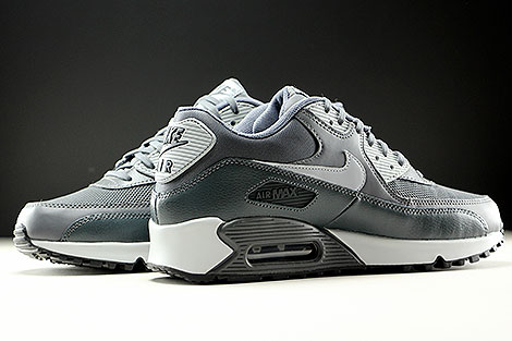 Nike WMNS Air Max 90 Essential Dark Grey Wolf Grey Anthracite Inside