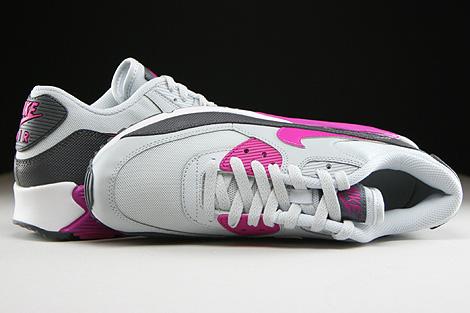 Nike WMNS Air Max 90 Essential Hellgrau Fuchsia Dunkelgrau Weiss Oberschuh