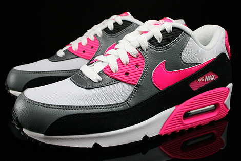 Nike Wmns Air Max 90 Essential White Hyper Pink Cool Grey
