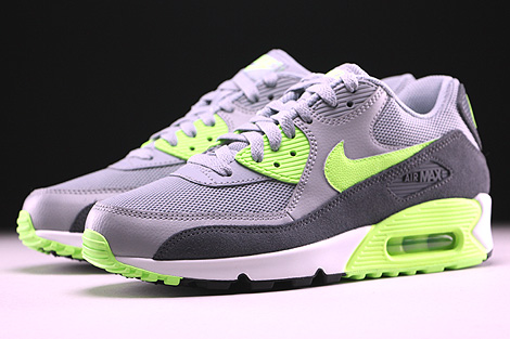 Nike WMNS Air Max 90 Essential Wolf Grey Ghost Green Dark Grey Summit White Sidedetails