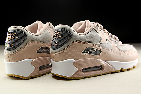 Nike WMNS Air Max 90 Particle Beige Moon Particle Back view
