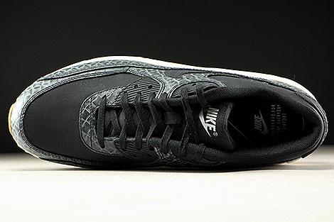Nike WMNS Air Max 90 Premium Schwarz Creme Hellbraun Oberschuh