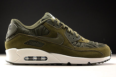 ... Nike WMNS Air Max 90 Premium Dark Loden Ivory Right ...