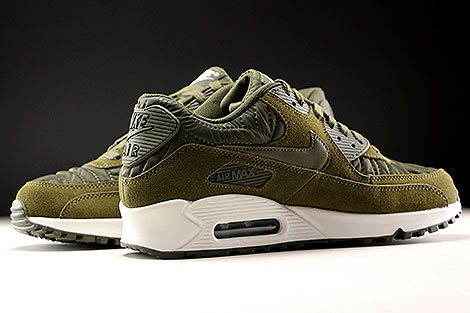 huge selection of ef581 86a6f ... Nike WMNS Air Max 90 Premium Dark Loden Ivory Inside ...