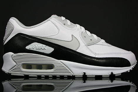 Nike WMNS Air Max 90 White Neutral Grey Black