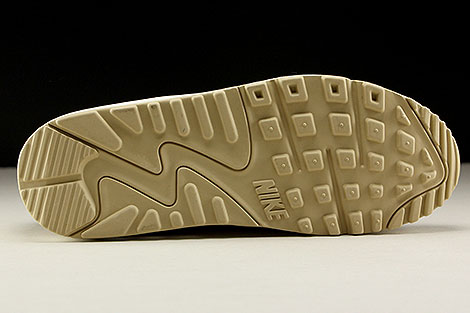 Nike WMNS Air Max 90 Premium Beige Creme Hellbraun Laufsohle