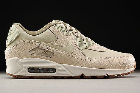 Nike WMNS Air Max 90 Premium Oatmeal Sail Khaki Right