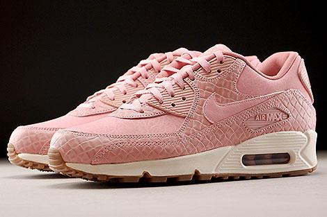 Nike WMNS Air Max 90 Premium Pink Glaze Sidedetails