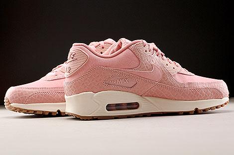 Nike WMNS Air Max 90 Premium Pink Creme Innenseite