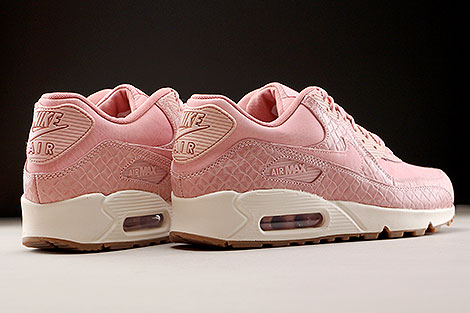 Nike WMNS Air Max 90 Premium Pink Glaze Back view