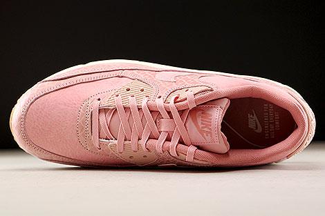 Nike WMNS Air Max 90 Premium Pink Creme Oberschuh