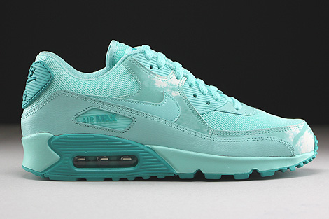 Nike WMNS Air Max 90 Print Artisan Teal Light Rtr White
