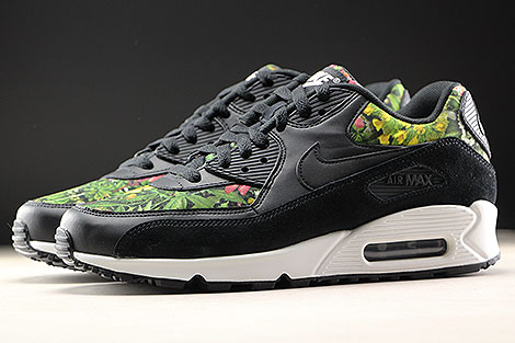 Nike WMNS Air Max 90 SE Black Floral Profile