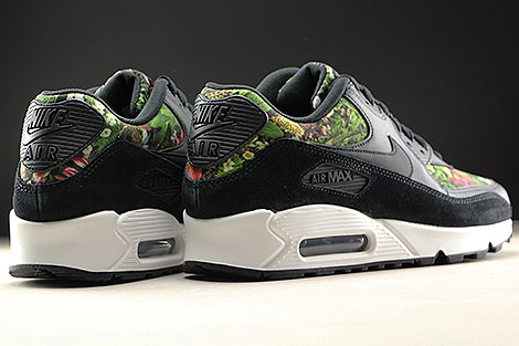 Nike WMNS Air Max 90 SE Black Floral Back view