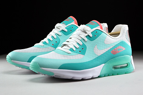 Nike WMNS Air Max 90 Ultra Breeze White Light Retro Lava Glow Sidedetails