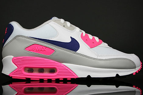 new product 4ecc7 e5742 Nike WMNS Air Max 90 White Asian Concord Laser Pink