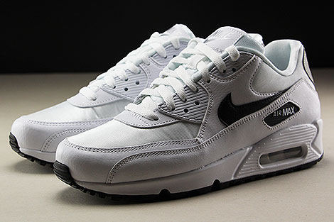 Nike WMNS Air Max 90 White Black Reflect Silver Seitendetail