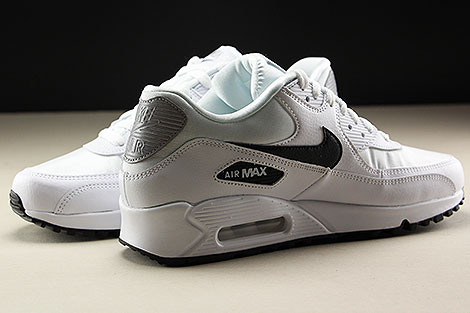 Nike WMNS Air Max 90 White Black Reflect Silver Innenseite