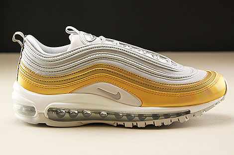 Nike WMNS Air Max 97 SE Vast Grey Metallic Silver Metallic Gold Rechts