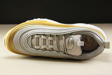 Nike WMNS Air Max 97 SE Vast Grey Metallic Silver Metallic Gold Over view