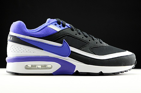 Nike WMNS Air Max BW Black Persian Violet White Right