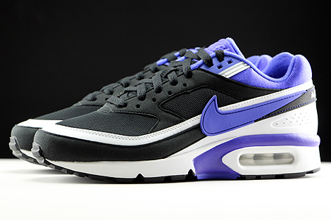 Nike WMNS Air Max BW Black Persian Violet White Profile
