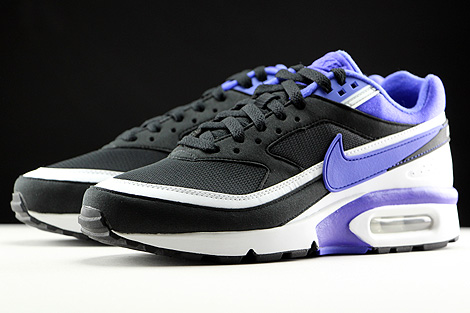 Nike WMNS Air Max BW Black Persian Violet White Sidedetails