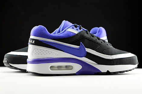 Nike WMNS Air Max BW Black Persian Violet White Inside