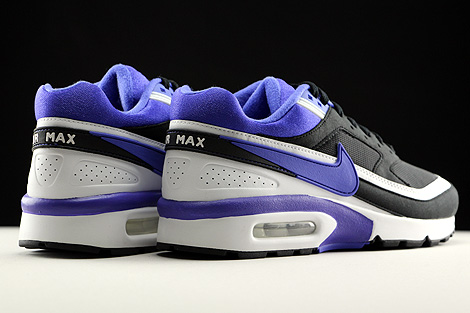 Nike WMNS Air Max BW Black Persian Violet White Back view