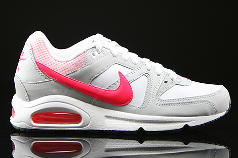 Nike WMNS Air Max Command White Hyper Punch Light Ash Grey