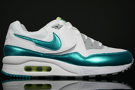 Nike WMNS Air Max Light White TRB Green Wolf Grey Ultramarine