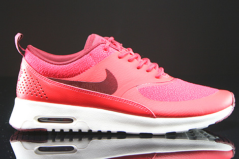 Nike WMNS Air Max Thea Rot Dunkelrot Creme