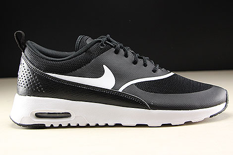 more photos 7b984 aa0ff ... Nike WMNS Air Max Thea Black White Right ...