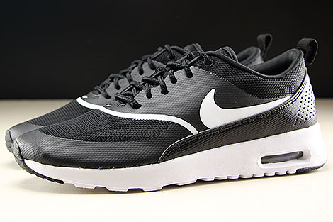 Nike WMNS Air Max Thea Black White Profile