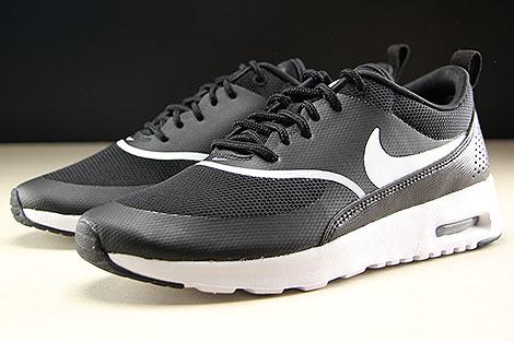 Nike WMNS Air Max Thea Black White Sidedetails