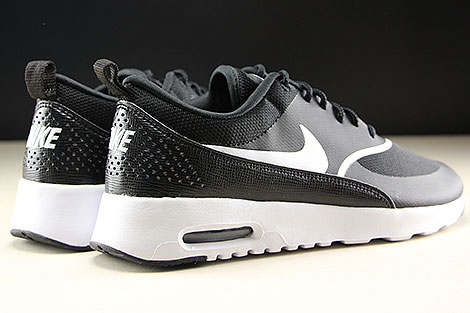 Nike WMNS Air Max Thea Black White Back view