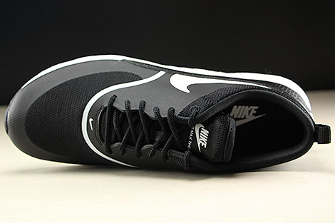 Nike WMNS Air Max Thea Schwarz Weiss Oberschuh