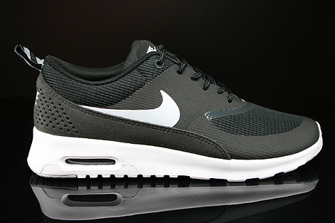 Women's Nike Air Max Thea White Black On feet Video at Exclucity